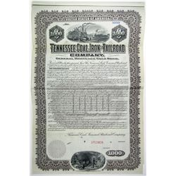Tennessee Coal, Iron and Railroad Co., 1901 Specimen Bond.