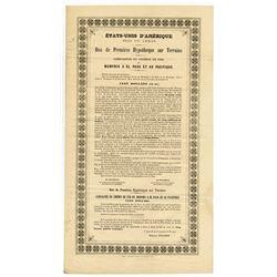 Memphis, El Paso & Pacific Railroad Co. 1867. In French.