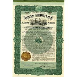 Texas Short Line Co., 1902 I/U Bond