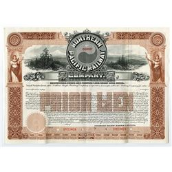 Northern Pacific Railway Co., 1896 Specimen Bond