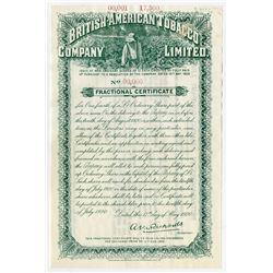 British-American Tobacco Co. Ltd. 1920.