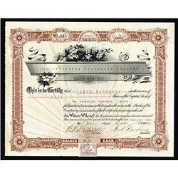 Extension Telephone Co. 1900, I/U Stock Certificate.