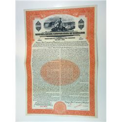 Niagara Share Corp. of Maryland, 1930 $1,000 Specimen 5 1/2% Gold Bond, VF ABNC