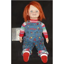"CULT OF CHUCKY ""SCREEN MATCHED"" GOOD GUYS DOLL WEARING BLOODY DEATH WARDROBE"