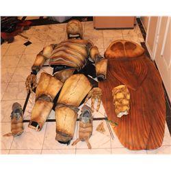 COCKROACH COMPLETE FULL BODY CREATURE SUIT COSTUME