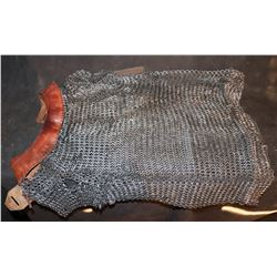 LORD OF THE RINGS NARNIA SCREEN USED MEDIEVIL CHAINMAIL SHIRT
