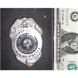 BAD BOYS FOR LIFE SCREEN USED POLICE BADGE