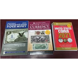 Set current catalogues on U.S. coins and banknotes