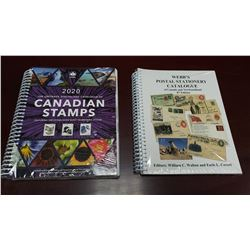 Webb's Postal Stationery Catalogue & 2020 Unitrade Specialized Catalogue of Canadian Stamps