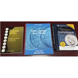 Set of 3 Grading Guide catalogues on Canadian and U.S. coins