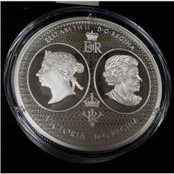 2017 $100 Fine Silver Coin -- Juventas et Patrius Vigor -- #0040 of 1000