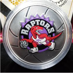 Toronto Raptors 25th Season Commemorative 2020 $25 Fine Silver Coin