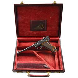 EXCEPTIONAL DWM TEST 1899 LUGER SWISS, DUTCH