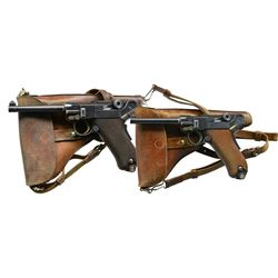 RARE, SUPER EARLY, SWISS MILITARY 1900 LUGERS,