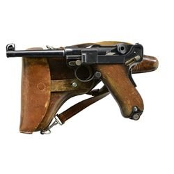 "PHENOMENAL ""A"" SUFFIX SWISS 1900 MILITARY LUGER,"