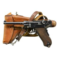 EARLY THREE DIGIT MODEL 1900 SWISS ARMY LUGER,