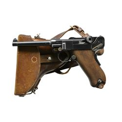 SCARCE SWISS ARMY MODEL 1900 LUGER, SN 772,