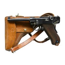 MODEL 1900 SWISS ARMY LUGER, SN 1199, CORRECT