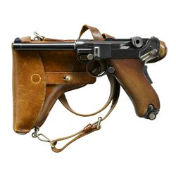 DESIRABLE MODEL 1900 SWISS ARMY LUGER, SN 1142,