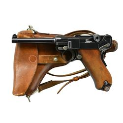 DESIRABLE MODEL 1900 SWISS ARMY LUGER, SN 2245,