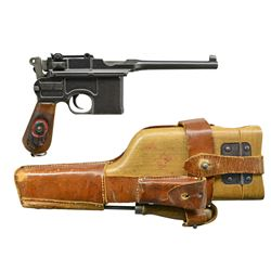 MAUSER RED-9 MODEL 1896 SEMI-AUTO PISTOL RIG.