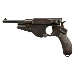 BERGMANN MODEL 1896 NO. 3 SEMI-AUTO PISTOL.