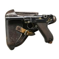DWM MODEL 1908 MILITARY DATED LUGER SEMI-AUTO