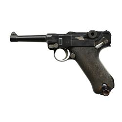 DWM MODEL 1914 MILITARY LUGER SEMI-AUTO PISTOL.