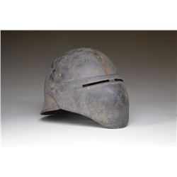 US MODEL 8 EXPERIMENTAL STEEL HELMET W/