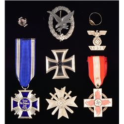 WWII GERMAN MEDALS, BADGES & MORE.