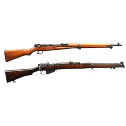 2 BOLT ACTION RIFLES: TOYO KOGYOTYPE 99 & BSA