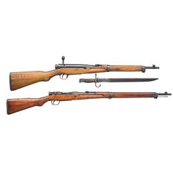 2 JAPANESE BOLT ACTION RIFLES.