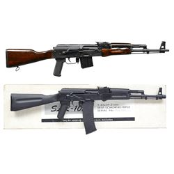 ROMANIAN SAR3 AK47 VARIANT & ARSENAL SLR105 SEMI
