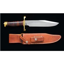 SPORTSMAN'S BOWIE STYLE RANDALL KNIFE.