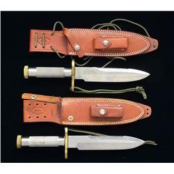 2 RANDALL SURVIVAL KNIVES.