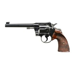 COLT OFFICERS MODEL TARGET REVOLVER.