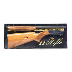 BROWNING 22 TAKEDOWN GRADE 1 SEMI AUTO RIFLE.