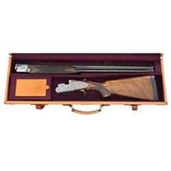 FINE EARLY 70?S BERETTA SO5 ENGRAVED BY LAUZOGIN