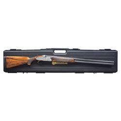 FINE MASTER ENGRAVED BERETTA S3 EELL FIELD GUN