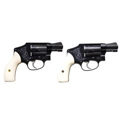 2 SMITH & WESSON RARE MISMARKED CONSECUTIVE NUMBER