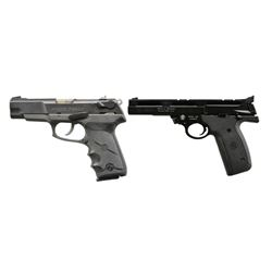 RUGER P89DC & SMITH & WESSON MODEL 22A PISTOLS.
