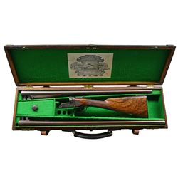 NICELY RESTORED BOXLOCK GAME GUN BY W. R. PAPE
