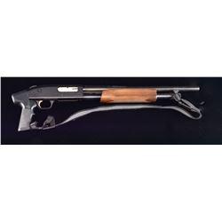 MOSSBERG MODEL 500A PUMP SHOTGUN.