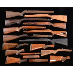 GROUP OF ASSORTED & SPORTING STOCKS.