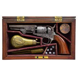 CIVIL WAR CASED COLT MODEL 1849 POCKET MODEL