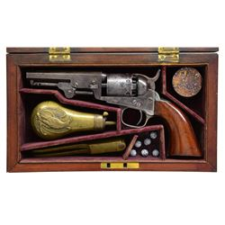 CIVIL WAR CASED COLT MODEL 1849 POCKET MODEL