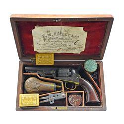 CASED LONDON COLT MODEL 1849 POCKET MODEL