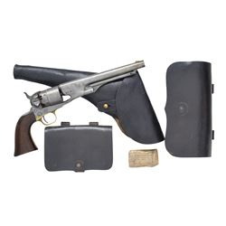 COLT MODEL 1860 ARMY WITH IT'S ORIGINAL HOLSTER,