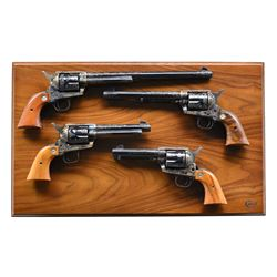 COLT 2ND GENERATION SINGLE ACTION ARMY FOUR GUN