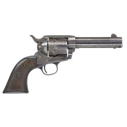 COLT 44-40 SINGLE ACTION ARMY REVOLVER.